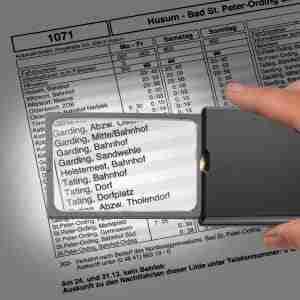 Creditcard lichtloepen