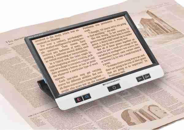 praktijkvooorbeeld digitale Eschenbach Visolux loep