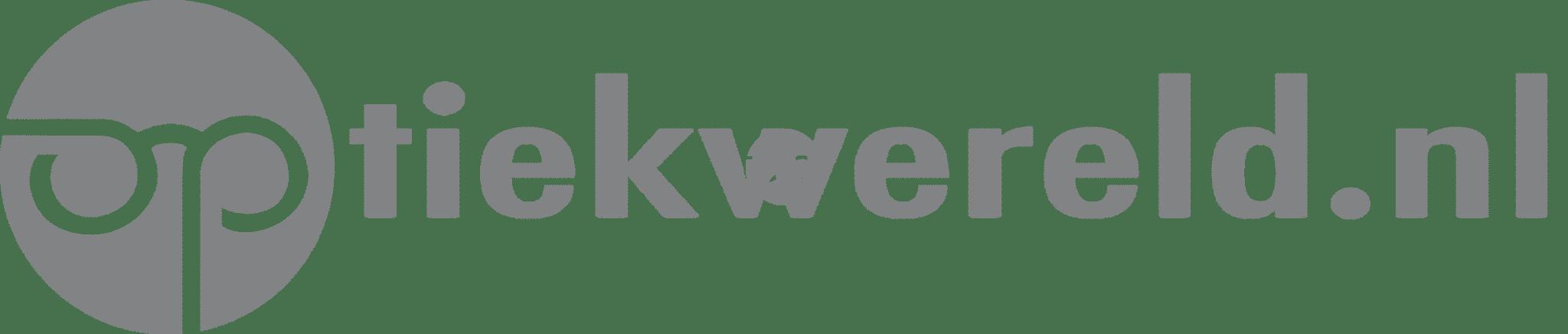 Het logo van loepen en vergrootglazen specialist optiekwereld